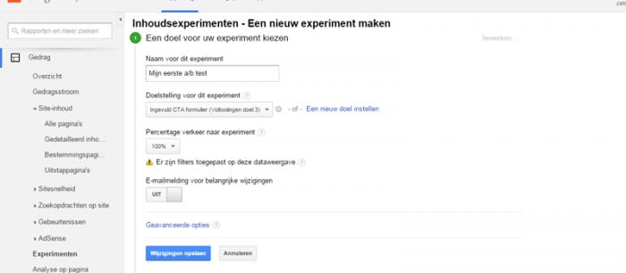 experiment-maken